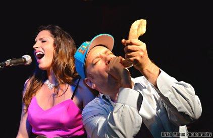 elisa sings benjy plays shofar