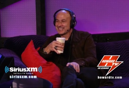 john varvatos on howard tv