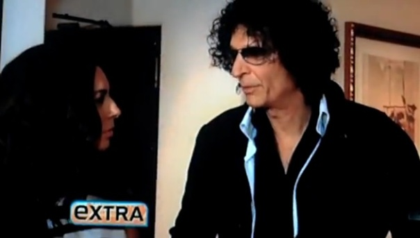 howard stern on extra
