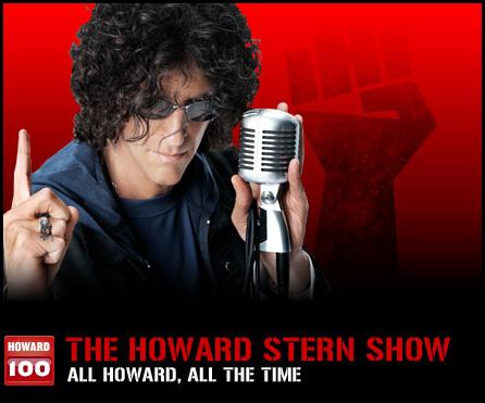 howard stern show wc