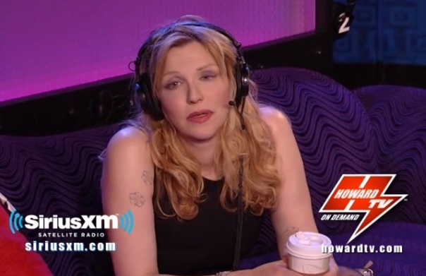 courtney love howard tv