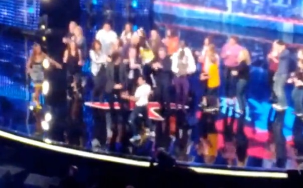 howard stern agt crazy conga line dance party