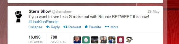 ronnie lisa retweet