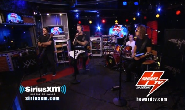 howard stern show metallica