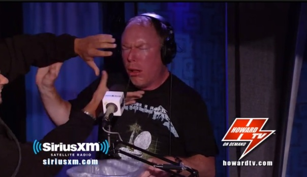 hss howard tv richard christy smegma cheese stache
