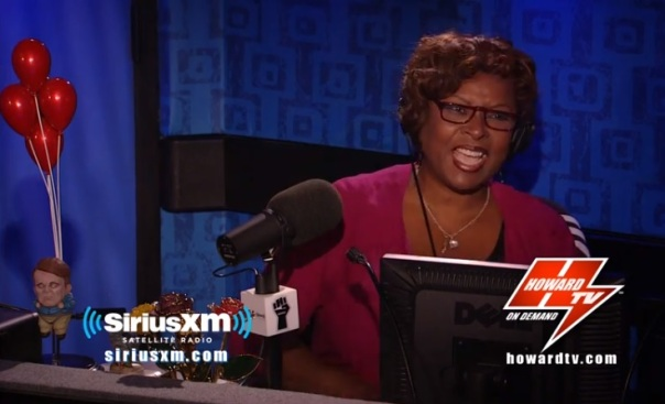 Robin Quivers returned to the Howard Stern Show studio Wednesday